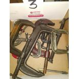 LOT - ASSORTED CLAMPS