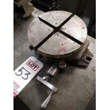 MANUAL ROTARY TABLE, MODEL BS9