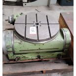 """WALTER 25"""" TILTING ROTARY TABLE, MODEL RTS-630-GA, S/N UNKNOWN"""