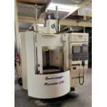 2002 KITAMURA MYCENTER-2XI SPARK CHANGER CNC VERTICAL MACHINING CENTER, FANUC 16I-M CNC CONTROL, XYZ