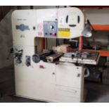 """DOALL VERTICAL BAND SAW, MODEL 3612-2H3, 36"""" THROAT, 26.5"""" X 33.5"""" TABLE, S/N 401-88217"""