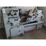 """CADILLAC 17"""" X 33"""" ENGINE LATHE, MODEL 1733, STEADY REST, 10"""" 3-JAW CHUCK, 2"""" SPINDLE BORE, 1800"""