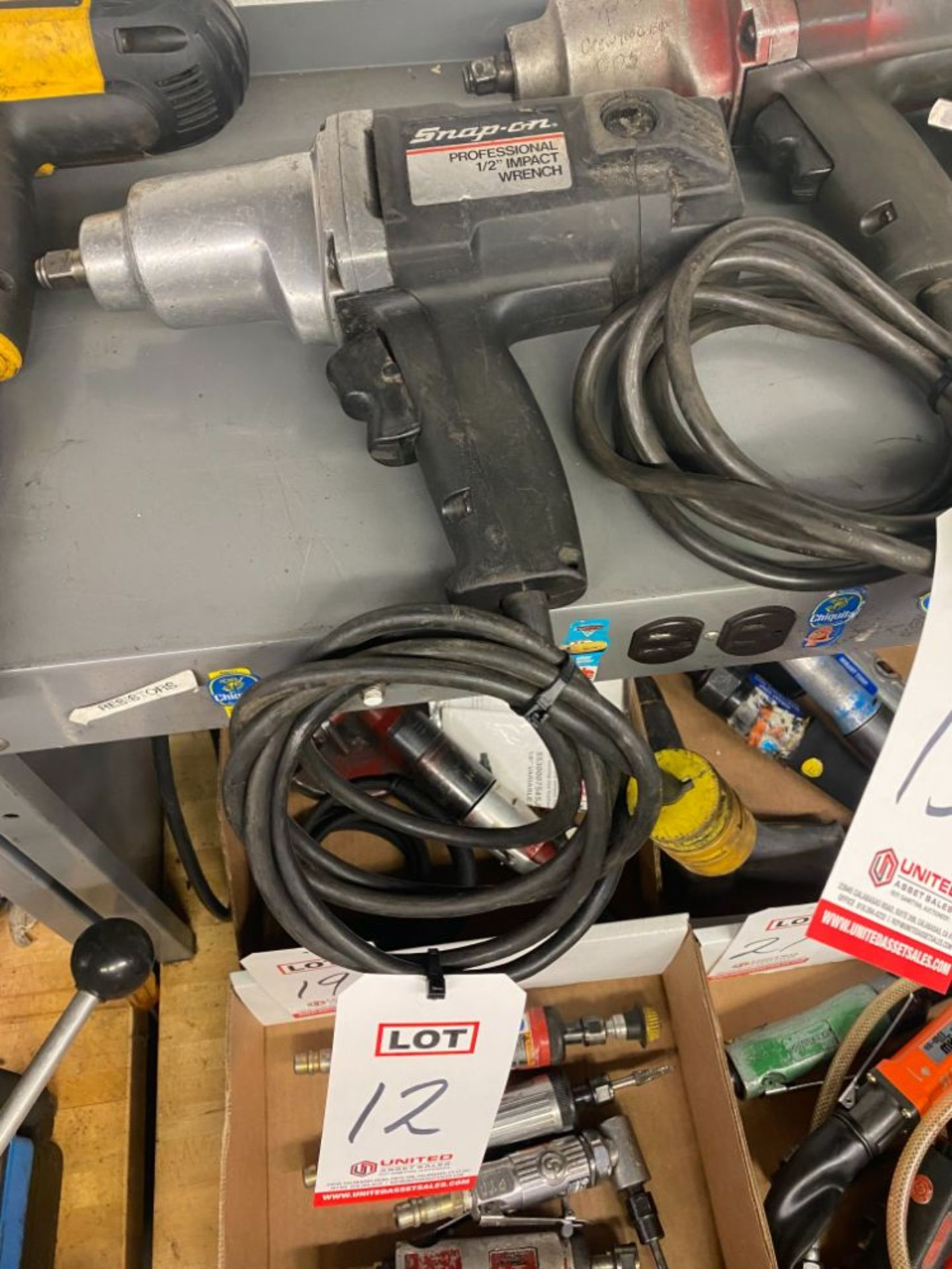"""SNAP-ON ½"""" IMPACT WRENCH"""