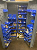 LOT - ELECTRICAL SUPPLY CABINET, W/ CONTENTS