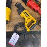 DEWALT DW311 RECIPROCATING SAW