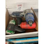 LOT - ASSORTED PNEUMATIC TOOLS