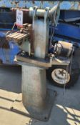 BENCHMASTER HORIZONTAL MILL, MODEL MH4, S/N 9587, W/ PEDESTAL STAND