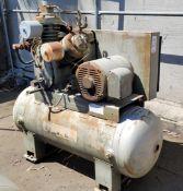 INGERSOLL-RAND 30T AIR COMPRESSOR, MODEL 25T2-25E3, S/N 445035