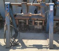 HERSCHAL PRODUCTS A-FRAME CORE KNOCKOUT MACHINE