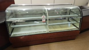 "DELI REFRIGERATED DISPLAY CASE, 76""W X 36""D X 43""HT, MFG. BY FEDERAL INDUSTRIES, MODEL CGR7742DZ,"