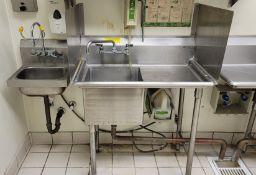 POT & PAN WASH LINE, INCLUDING JACKSON AVENGER HT DISHWASHER