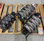LOT - STOCK INTAKE MANIFOLDS REMOVED FROM MISC VEHICLES