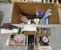 LOT - PALLET OF MISC PARTS: IGNITION WIRES, TIMING CHAIN SETS, ETC.