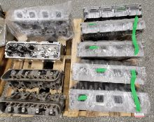 LOT - (9) CYLINDER HEADS