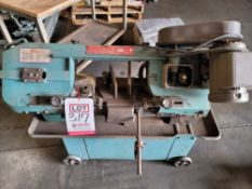 "ENCO 7"" HORIZONTAL BAND SAW, MODEL 137-3165"