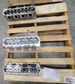 LOT - (3) CYLINDER HEADS