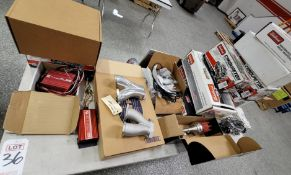 LOT - MISC PARTS FROM IGNITION TO CARBURETION, INTAKE MANIFOLDS, ETC.