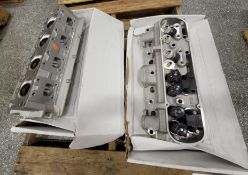 LOT - (2) CYLINDER HEADS