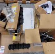 LOT - 2012 CHALLENGER STOCK EXHAUST MANIFOLDS AND OTHER STOCK PARTS REMOVED FROM VARIOUS VEHICLES