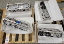 LOT - (4) CYLINDER HEADS