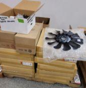 LOT - DORMAN 621-515 RADIATOR FAN ASSEMBLIES, MISC AIR FILTERS, FUEL SYSTEM PRESSURE REGULATORS,