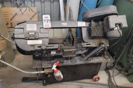 TJD INDUSTRIAL PORTABLE HORIZONTAL BAND SAW (LOCATED INSIDE WOOD SHOP)