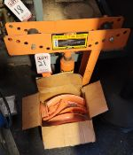 CENTRAL HYDRAULICS 12-TON HYDRAULIC PIPE BENDER, MODEL 32888