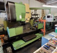 """1984 MORI SEIKI CNC VERTICAL MACHINING CENTER, MODEL MV 35/35, 10"""" 4TH AXIS ROTARY TABLE, FANUC 6M"""