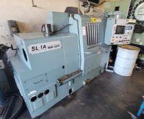 MORI SEIKI CNC LATHE, MODEL SL-1A, YASNAC LX-1 CONTROL, TAILSTOCK, S/N 692