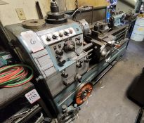 """NAMSEON ACRATURN 16 X 40 LATHE, 8"""" 3-JAW CHUCK, FACE PLATE, STEADY REST, TAILSTOCK, S/N N1-9010300"""