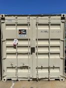 40' STORAGE CONTAINERS, (2) TURBINE ROOF AIR VENTS, GREAT CONDITION