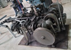 WIRE FORMING MACHINE, NO DATA TAG OR MANUFACTURER INFO
