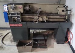 """CLAUSING 13"""" X 36"""" ENGINE LATHE, MODEL 1301, 8"""" 3-JAW SELF-CENTERING CHUCK, (PARTS ONLY)"""