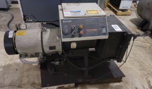 COMP AIR 20 HP AIR COMPRESSOR, MODEL 088CK08-208, S/N 088-000660-0005