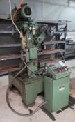 PERKINS 15-S 15-TON GAP FRAME PUNCH PRESS, S/N 44167 (PARTS ONLY)