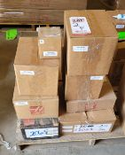 LOT - (8) BOXES OF HAAS MACHINE PARTS, NEW, SEE PHOTOS