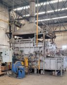 REVERB FURNACE W/ 2 BURNERS 1MMBTU EA, COMBUSTION SYSTEM, VALVE TRAIN AND CONTROLS, 12,000 LBS IN