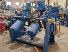 DEPENDABLE SEMI AUTOMATIC SHELL CORE MACHINE, MODEL 400SA, W/ GAS PANEL (PLM 139)