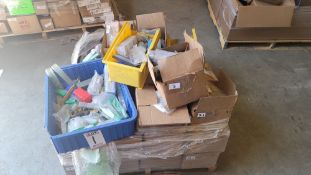 LOT - PALLET OF END MILLS, INSERTS, DRILLS, INSERT TOOL HOLDERS, CARBIDE TOOLS, ETC.