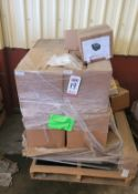 LOT - PALLET OF FILTERS, MPN FILTER, 1073-NEW, 1984-NEW, AND RELATED ITEMS