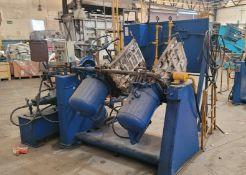DEPENDABLE SEMI AUTOMATIC SHELL CORE MACHINE, MODEL 400SA, W/ GAS PANEL AND HYDRAULIC UNIT (PLM