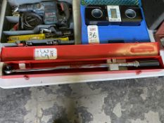 """BLUE POINT ¾"""" DRIVE 600 FOOT LB TORQUE WRENCH (LOCATION: AS)"""