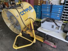 LOT - COPPUS COLD FRONT EVAPORATIVE COOLING FAN AND PUMP (LOCATION: AS)