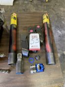 LOT - ASSORTED HIGH TORQUE STOPS AND MISC (LOCATION: AS)