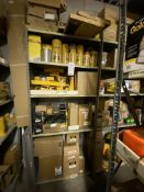LOT - (4) SHELVES OF CATERPILLAR SERVICE PARTS (LOCATION: AS)