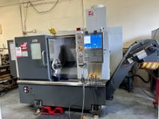 """2016 HAAS ST-15 TURNING CENTER, 8"""" 3-JAW CHUCK, 16"""" SWING, 12-STATION TURRET, 4,000 RPM, 2.5"""" BAR"""
