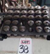 LOT - 5C COLLETS