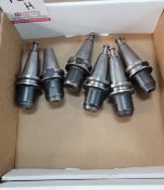 """LOT - (6) BT-35 TOOL HOLDERS, 1/2"""" SOLID, **IMMEX REGISTERED EQUIPMENT (NEEDS TO RETURN TO THE US)"""
