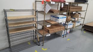 LOT - (3) WIRE RACKS, CONTENTS NOT INCLUDED, **IMMEX REGISTERED EQUIPMENT (NEEDS TO RETURN TO THE