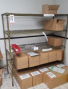 """METAL SHELF, 5' X 60"""" X 24"""", CONTENTS NOT INCLUDED, **IMMEX REGISTERED EQUIPMENT (NEEDS TO RETURN TO"""